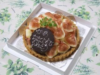 お誕生日ケーキで〜す