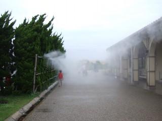再び霧を通って